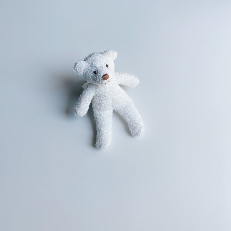 TOWEL BEAR MINI - SNOW WHITE