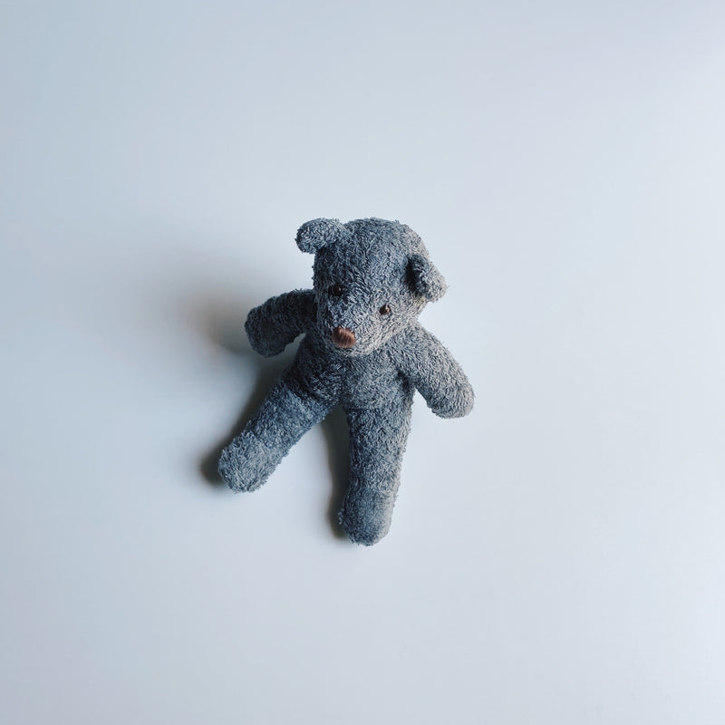TOWEL BEAR MINI - CLOUD GRAY