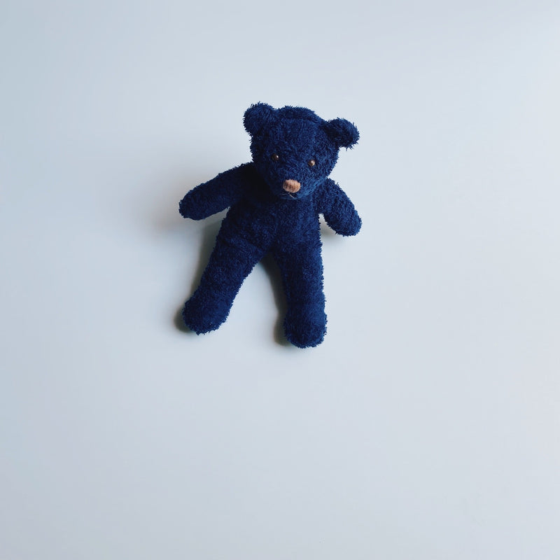 TOWEL BEAR MINI - DARKNIGHT INDIGO