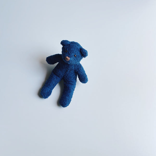 TOWEL BEAR MINI - MOONLIGHT INDIGO