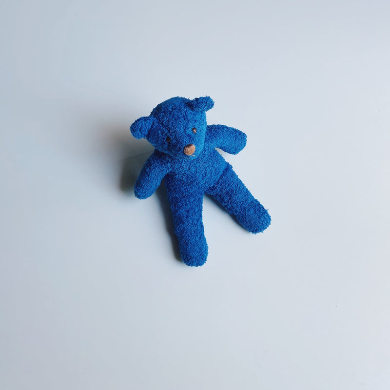 TOWEL BEAR MINI - SUNDAY BLUE