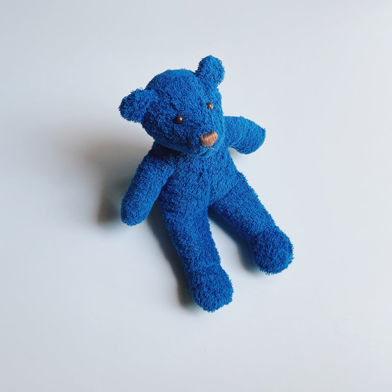 TOWEL BEAR - SUNDAY BLUE