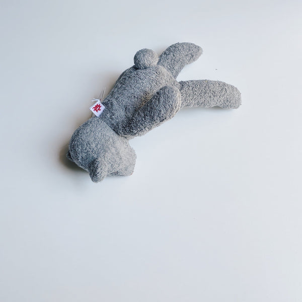 TOWEL BEAR - cloud gray