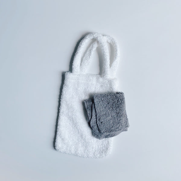 TOWEL BAG - SNOW WHITE / S