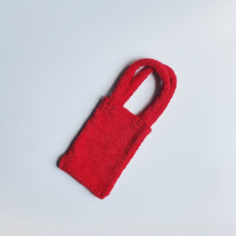 TOWEL BAG - STRAWBERRY RED / S
