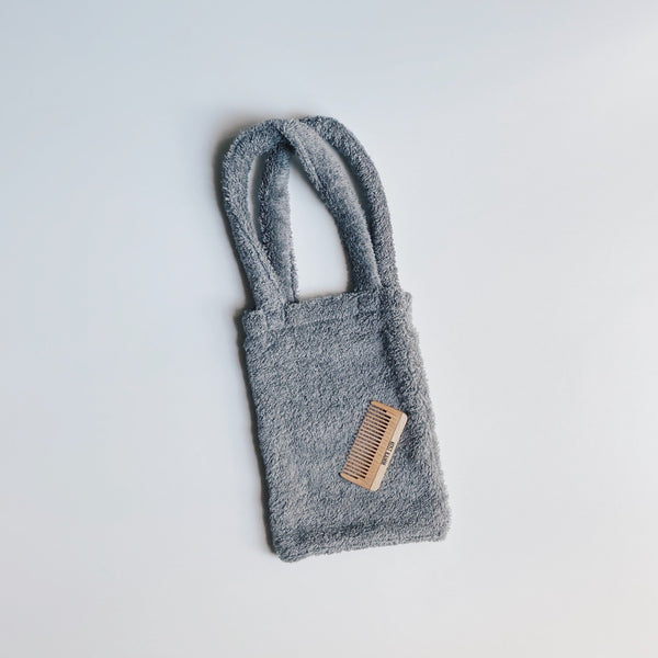 TOWEL BAG - CLOUD GRAY / S