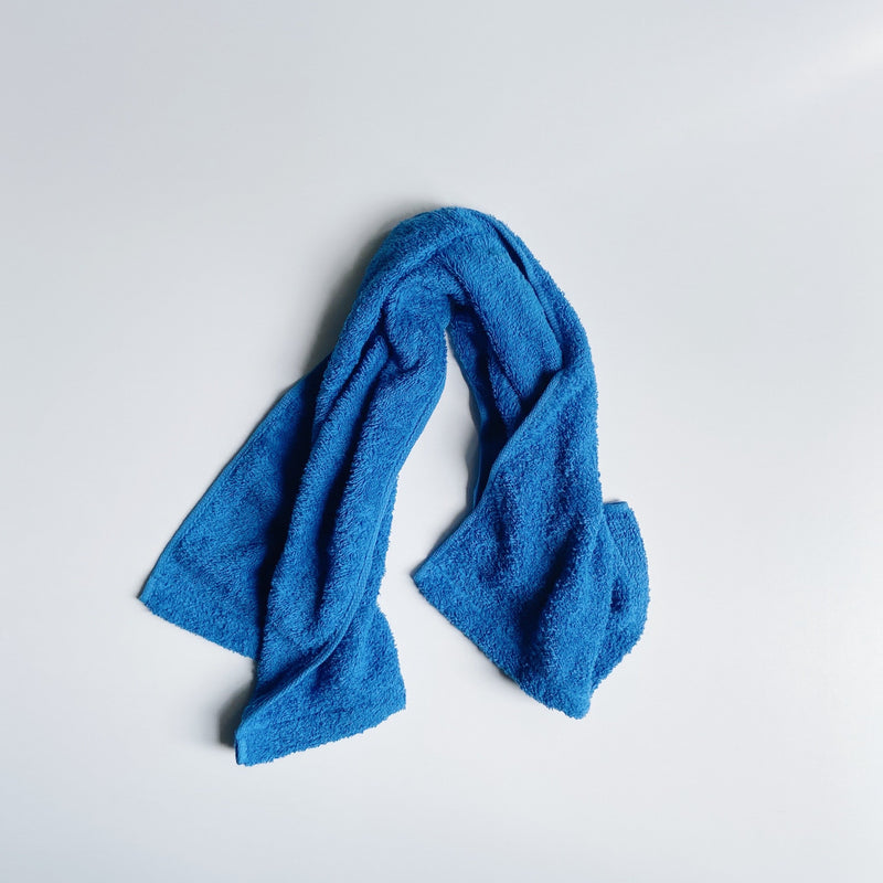 MINI FACE TOWEL - Sunday blue