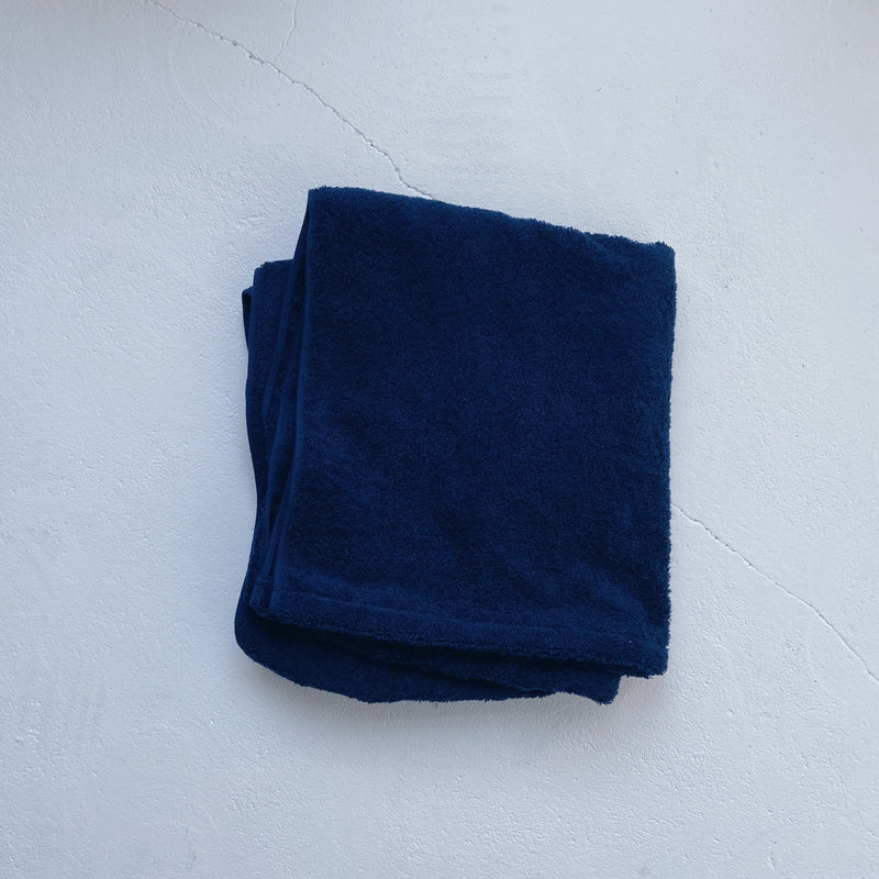 BATH TOWEL - darknight indigo