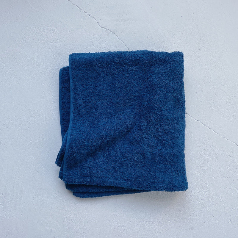 BATH TOWEL - moonlight indigo