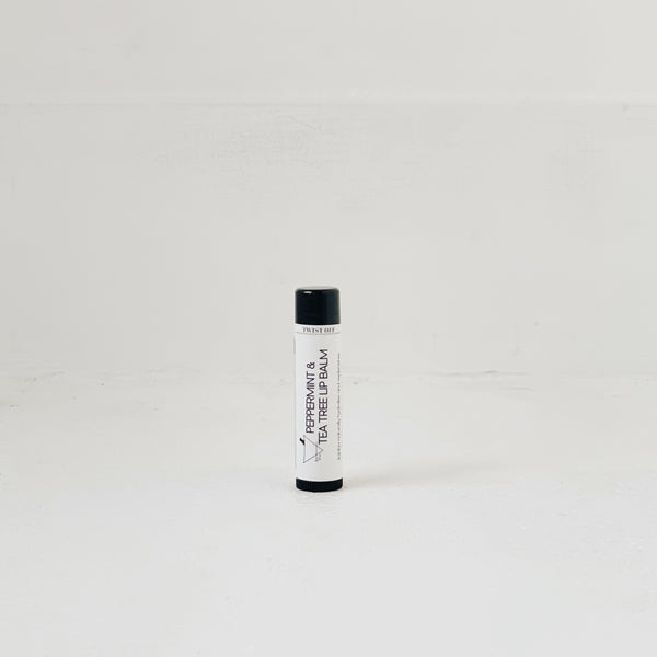 PEPPERMINT & TEA TREE LIP BALM