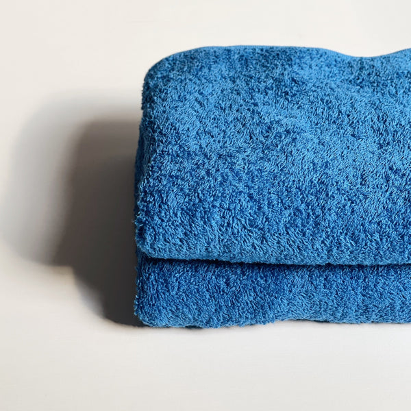 FACE TOWEL - sunday blue