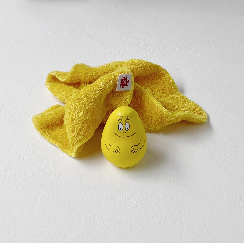 FACE TOWEL - zoo yellow