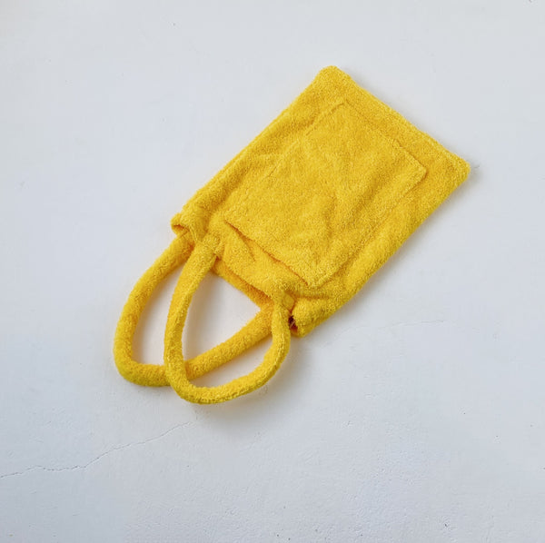 TOWEL BAG - ZOO YELLOW / L