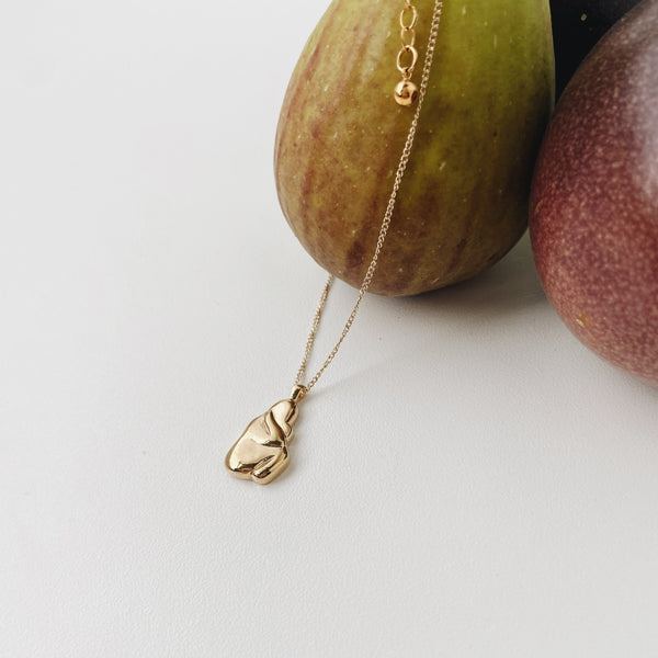 Iris Necklace - Gold