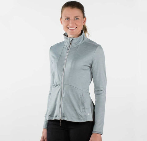 Horze Jade Women's Zip-Up Training Sweatshirt