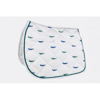 Lettia Alligators All Purpose Saddle Pad***Clearance Price***