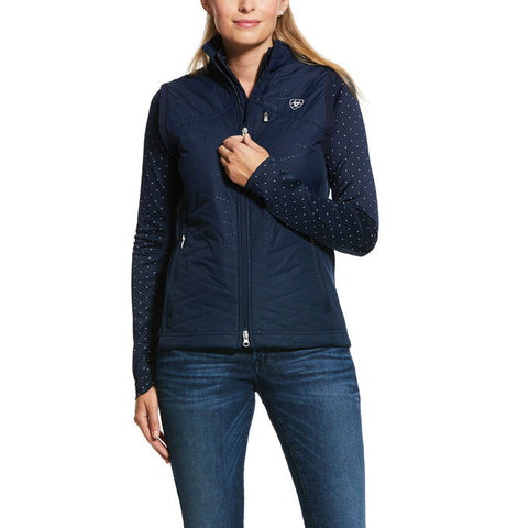 ARIAT Women HYBRID INSULATED VEST NAVY ***SALE PRICE***