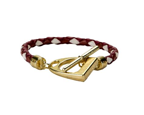 In The Stirrup Bracelet Cinnamon