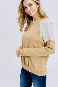 Mustard Pull Over Sweater
