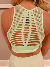 Load image into Gallery viewer, Mint Laser Cut Bra