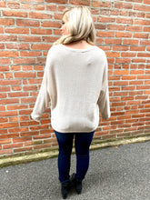 Load image into Gallery viewer, Oatmeal sweater