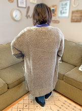 Load image into Gallery viewer, Marled Grey Cardigan