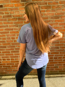 Light Blue Boyfriend Tee