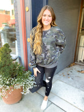 Load image into Gallery viewer, Camo Thermal Sweatshirt