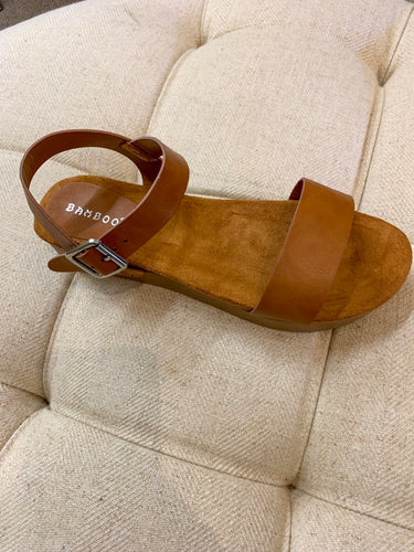 Brown Wedge Shoe