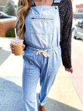 Load image into Gallery viewer, Light Denim Overalls