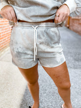 Load image into Gallery viewer, Grey Tie Dye Shorts