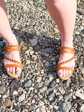 Load image into Gallery viewer, Brown Sandal