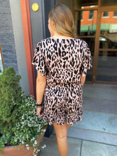 Load image into Gallery viewer, Leopard Romper