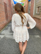 Load image into Gallery viewer, Cream Tied Dress