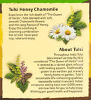 Tulsi Honey Chamomile 25 Tea Bags - Organic India