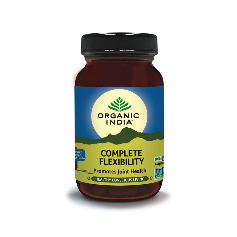 Organic India Flexibility Supplement (90 Capsules) 350mg Per Capsule - Organic India