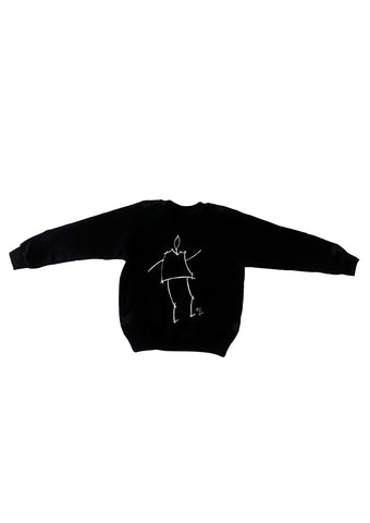 Kids Jumper- kowa stickman