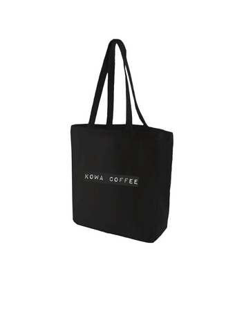 Black Kowa Coffee Tote 01