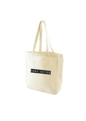 Kowa Coffee Unbleached Tote 01