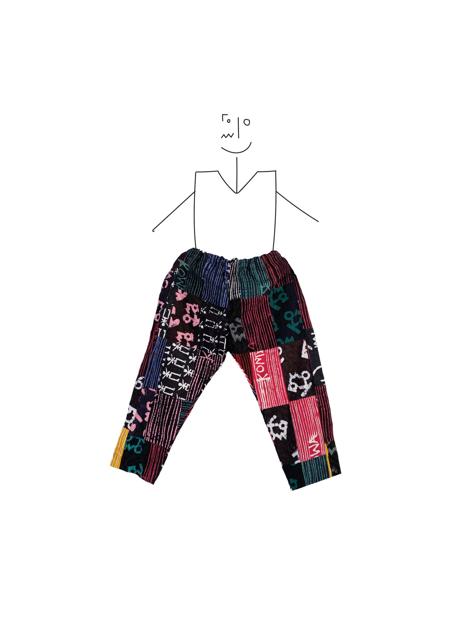 Trousers- Patch Patch