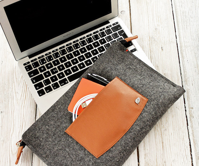 MacBook Portfolio Case – Anthracite