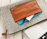 MacBook Portfolio Case – Grey