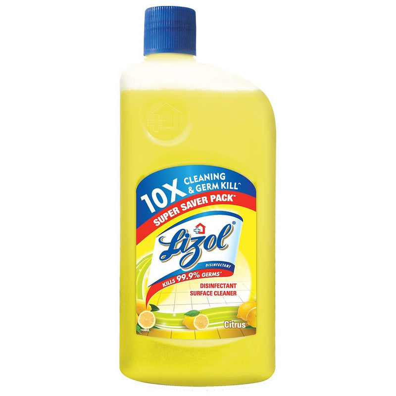 Lizol Disinfectant Surface Cleaner Citrus, 500ml