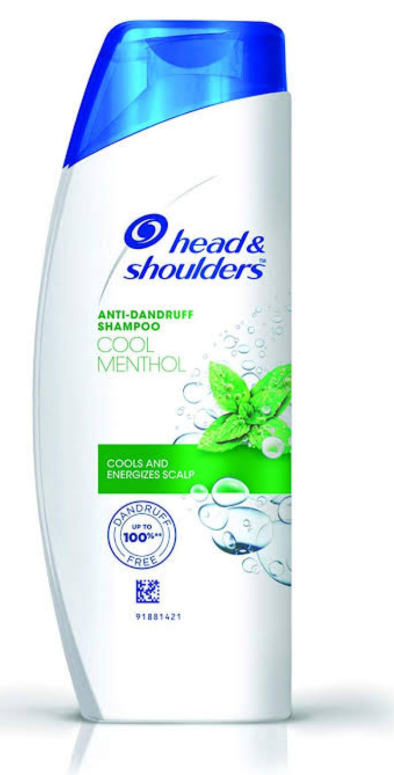 Head & Shoulders Cool Menthol Anti Dandruff Shampoo ( Cools And Energizes Scalp), 340 ml