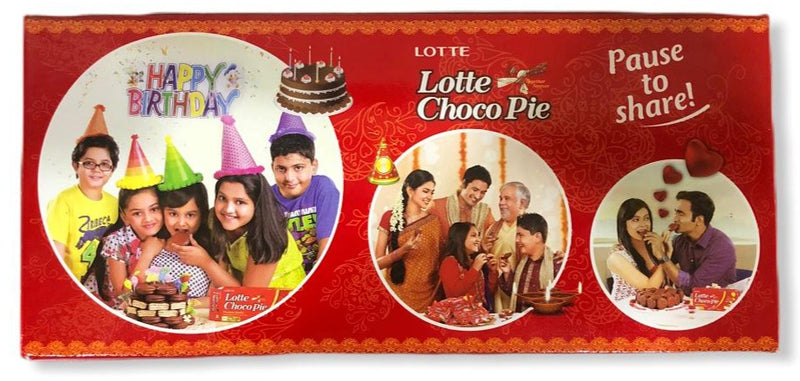 Lotte Choco Pie With Rich Marshmallow 6 X 28 g, 168g