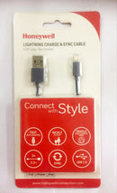 Honeywell Apple Lightning Charge & Sync Cable (USB cable - Non Braided)
