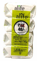 Alife Lively Lime Soap, 4 X 75 g