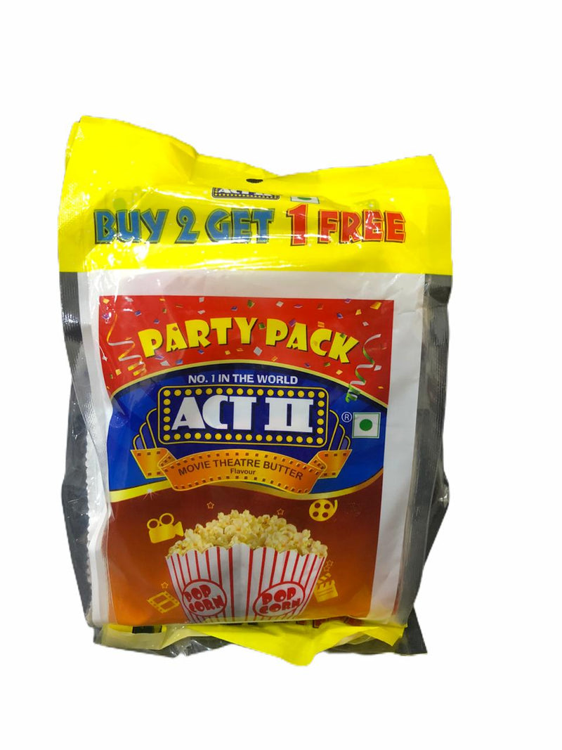 ACT II Popcorn Butter Delight Flavour Party Pack, Buy 2 Get 1 Free