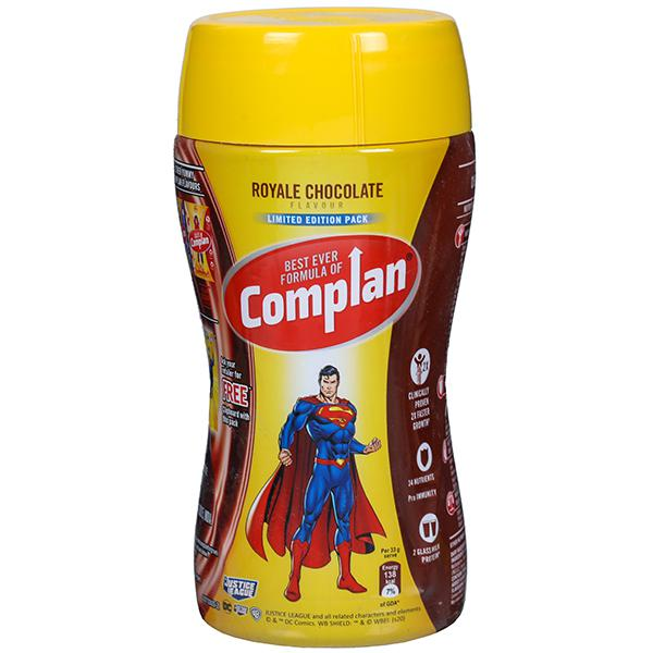 Complan Royal Chocolate Flavour, 500 g (Free Clipboard with this pack)