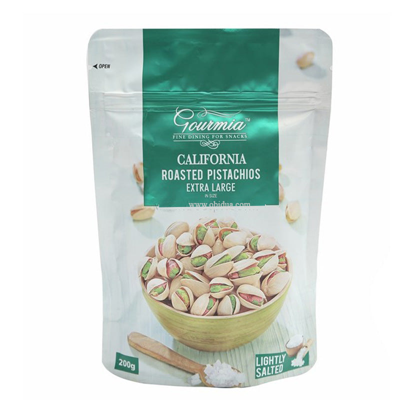 Gourmia California Roasted Pistachios Extra Large, 200 g